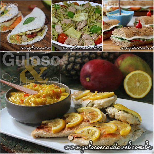 Almoços Saudáveis que se Prepararam em 15 minutos