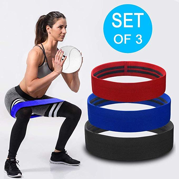 Resistance Bands Hip Exercise Bands for Booty /& Glute Fitness Yoga Bands