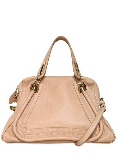 CHLOE\u0026#39; / MEDIUM PARATY GRAINED LEATHER BAG | Bags | Pinterest ...