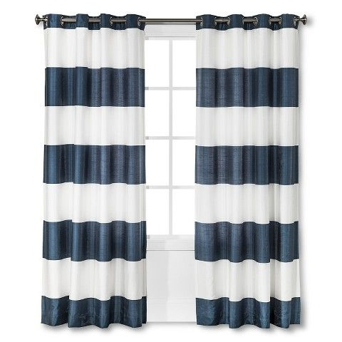 17 Best ideas about Striped Curtains on Pinterest | Big window ...