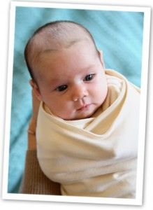 Hands to Heart: After working as a pediatric sleep consultant for 10+ years, Angelique developed a swaddle that helps baby sleep more naturally- with hands above the heart.