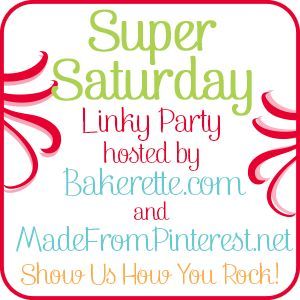 Super Saturday Show Us How You Rock Link Party!  LInk up today!