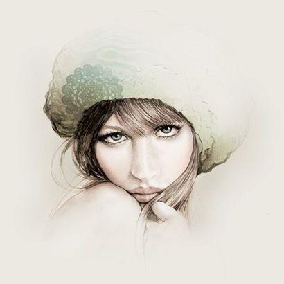 Colored pencil graphite and pastel illustration by victoria australia based graphic designer artist and illustrator bec winnel