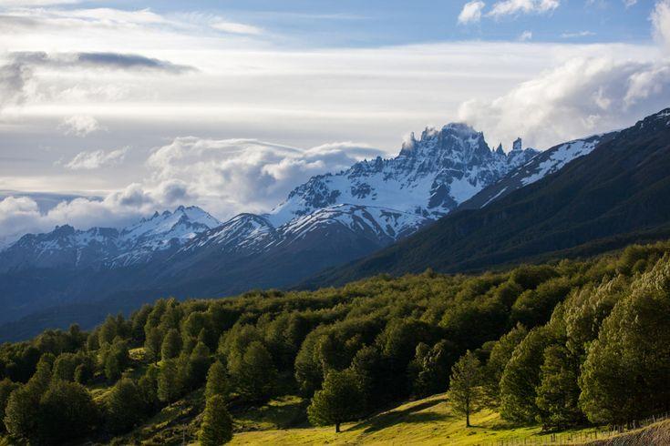 Cerro Castillo in the Aysen Region of Patagonia, Chile. Photo by James Q Martin