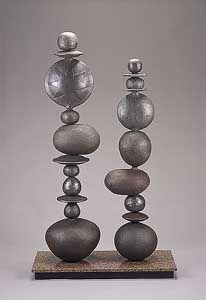 Double Totemic Dreams: Victoria Shaw: Ceramic Sculpture   Artful Home