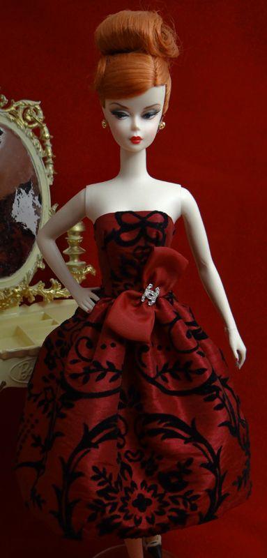 Flocked Taffeta | Nise's Fashionable Designs
