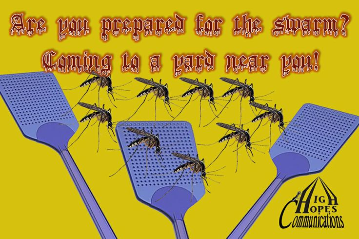 Are you prepared for the swarm? www.highhopescommunications.ca