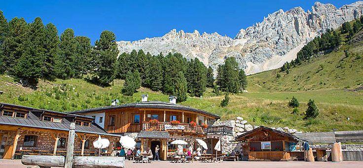 Mayrl Alm Almhütte Skihütte Obereggen Südtirol Alto Adige Gourmet Südtirol