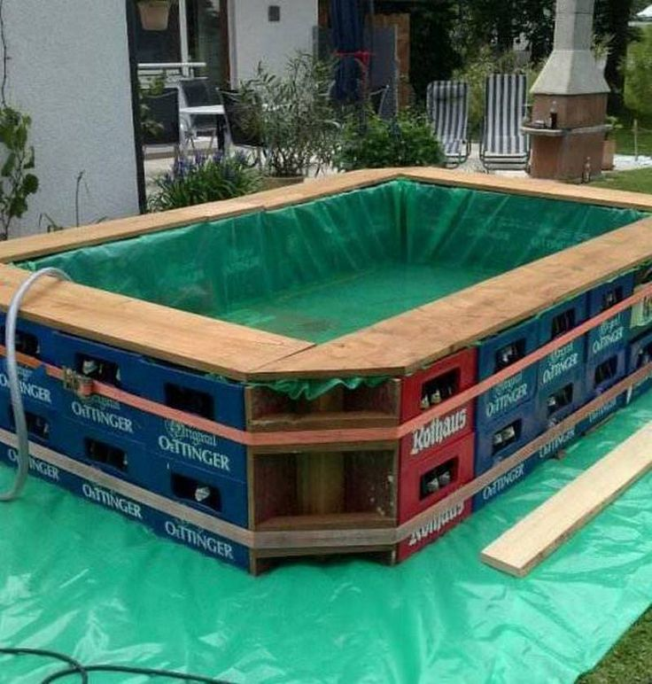 Looking For An Interesting Creative Or Economical Way To Make Your Own Swimming Pool Here 39 S