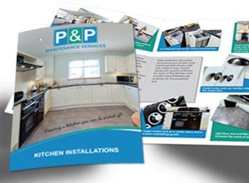 A5 brochure for P&P Maintenance