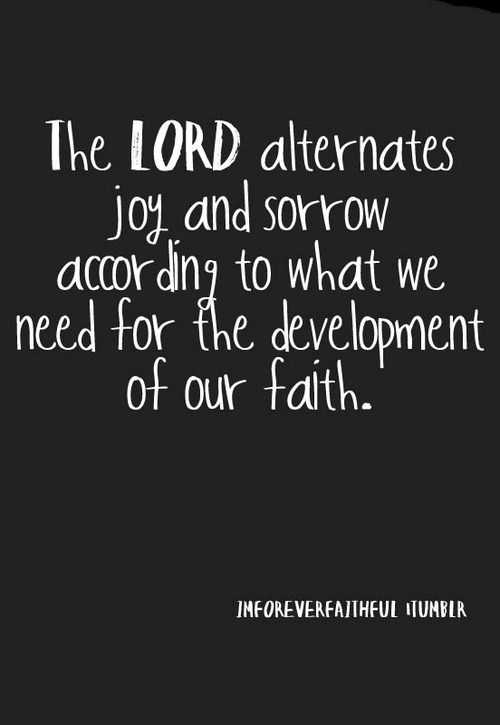 To develop your Faith