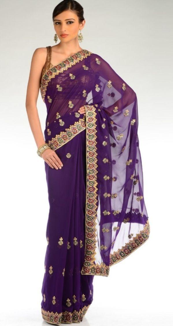 India con sari para boda.