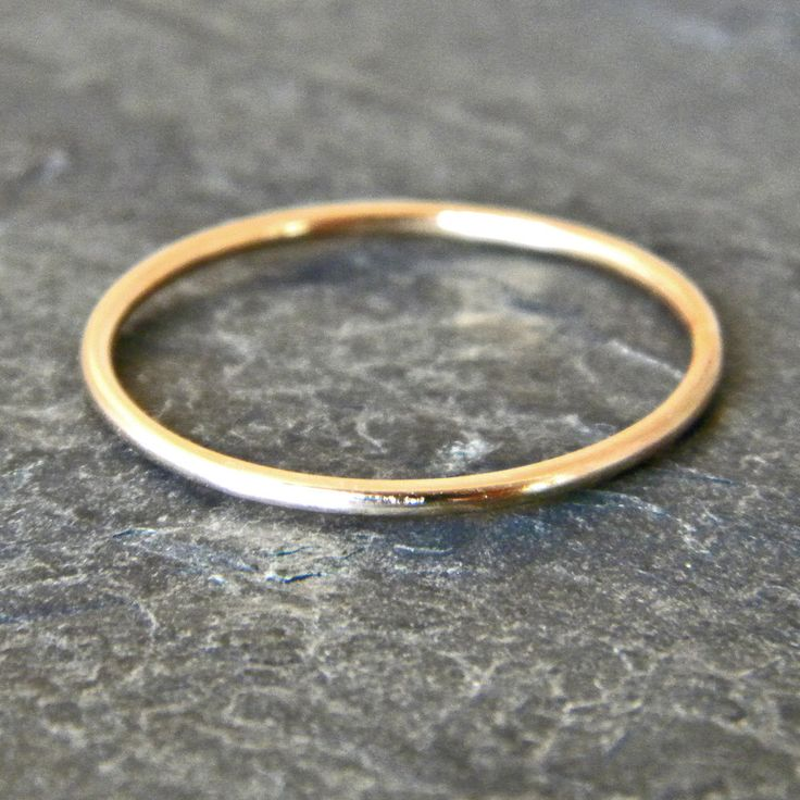 Gold Thumb Ring - Dainty Gold Ring - Gold Stacking Rings - Dainty Stacking Ring -  Womens Thumb Ring - Midi Ring - Knuckle Ring - Gold Fill by SerendipityHandcraft on Etsy https://www.etsy.com/listing/242086195/gold-thumb-ring-dainty-gold-ring-gold