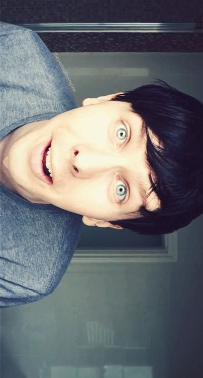 Phil, the most amazing thing in the world.>>hence amazingphil;) he had the most gorgeous eyes too!