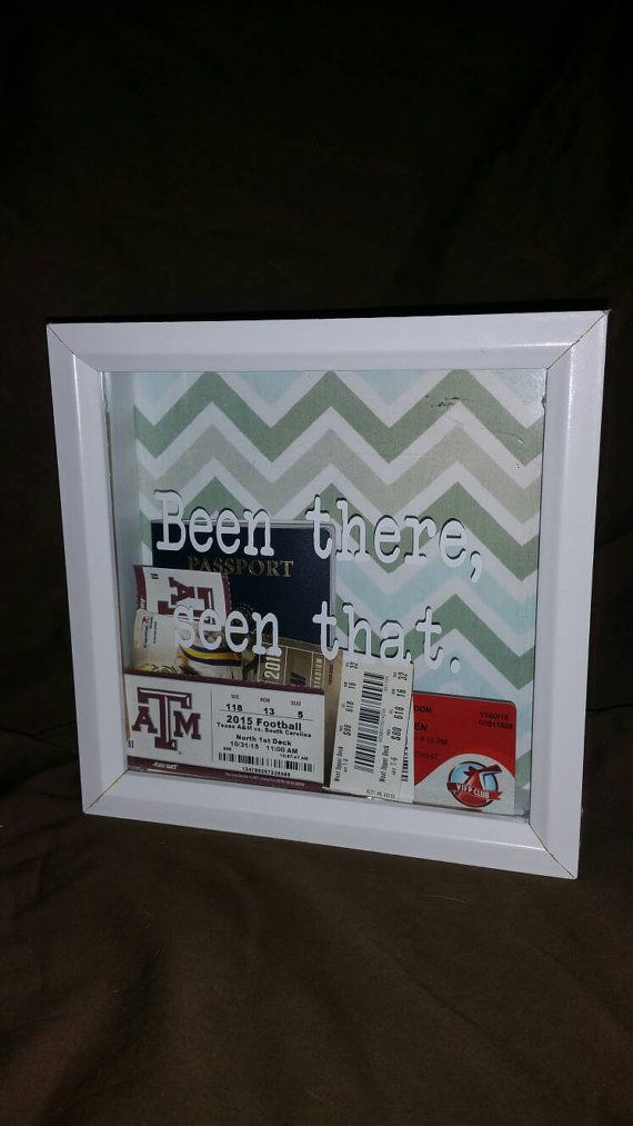 Shadow Box Travel by SouthernCharismaTx on Etsy