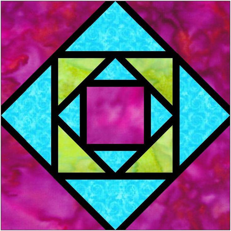 706 best Quilt blocks images on Pinterest   Quiltblöcke, Anleitungen ...