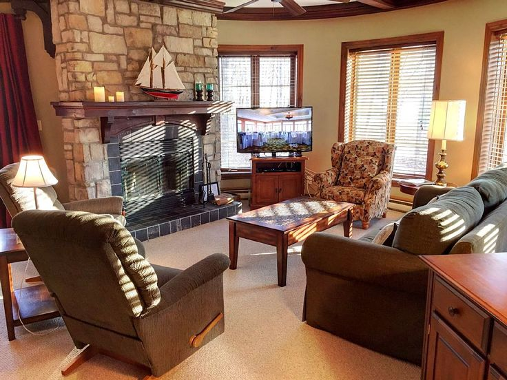 Condo vacation rental in Refuge Du Cerf (Mont-Tremblant, QC, Canada) from…