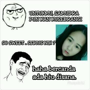 klau jadi cewek hati2 salah pilih yaa.. #cute #image #haha #keren #meme indonesia