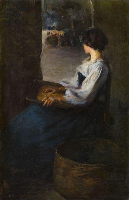 Enrique Martinez Cubells - Mujer Bretona