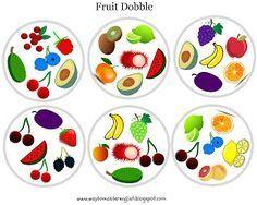 FUNGLISH: Fruit Dobble