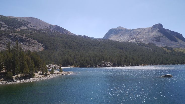 """""""premier lac de yocemite"""" by TravelPod blogger marco-2010 from the entry """"Yosemite national parc"""" on Thursday, September 10, 2015 in Yosemite Valley, United States"""