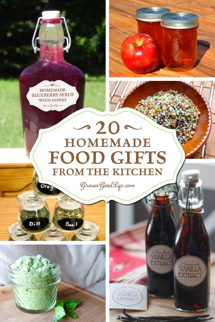 Show your foodie friends and loved ones that you care by giving homemade edible gifts that they will truly enjoy. Need some ideas? Here are some culinary inspired presents that you can make in your kitchen: