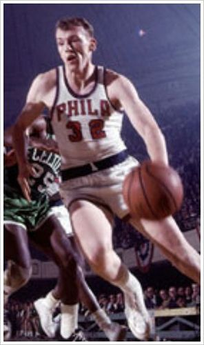 Billy Cunningham played fiercely, coached intensely, and won frequently. And he made it to the Naismith Memorial Basketball Hall of Fame with a career that reads like a how-to book for legends. As a player and then a coach for the Philadelphia 76ers, he was part of two NBA championship teams. Among his numerous career achievements, he was named to the 1966 NBA All-Rookie Team and three All-NBA First Teams. In 1996, he was named to the NBA 50th Anniversary All-Time Team.