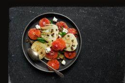 Blood Orange & Caramelised Fennel Salad