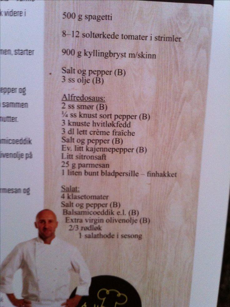 Ingredienser alfredosaus