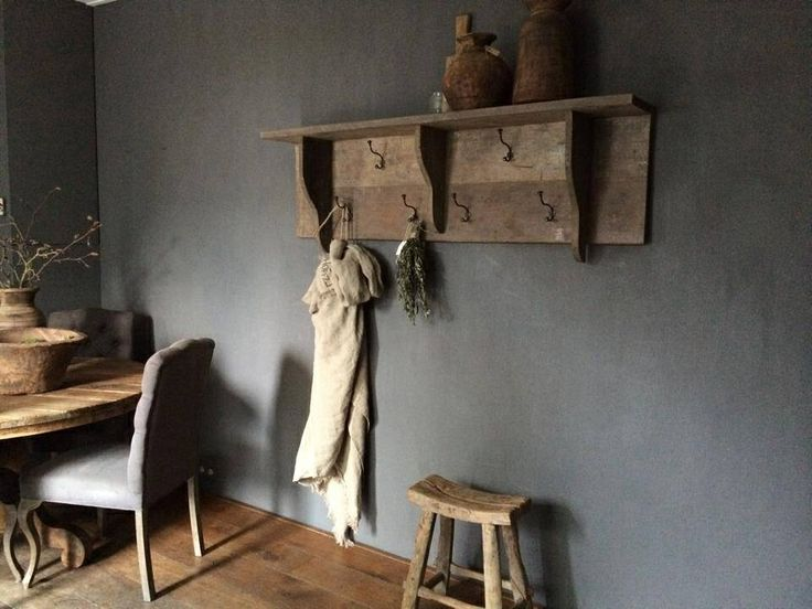 Rustic@ wallpaint. Colour Slate. www.paintingthepast.nl