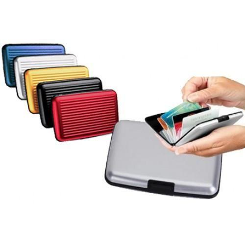 Water Resistant Aluminum Wallet