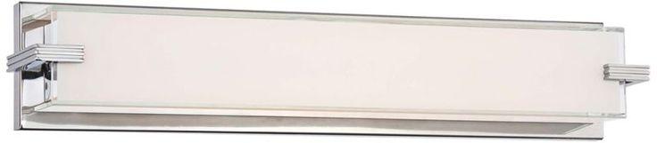 George Kovacs Modern Cubism Chrome 4 3/4-Inch-H Bath Light -
