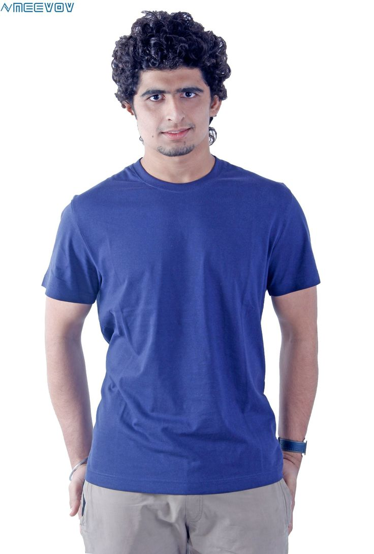 17 best images about men 39 s plain t shirts on pinterest for Half sleeve t shirts for men