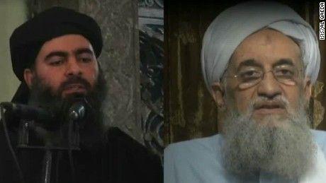 In a blistering new message, Ayman al-Zawahiri denounces Abu Bakr al-Baghdadi as the illegitimate leader of a phony caliphate.