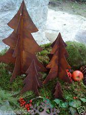 Edelrost Baum Tannenbaum 3 Dimensional Rost Eisen Weihnachten Christbaum Deko