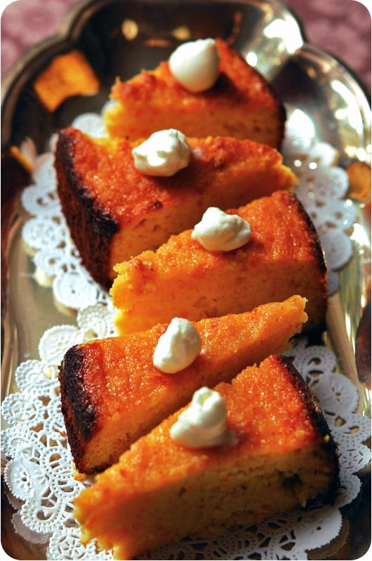 Healthy orange cake recipe