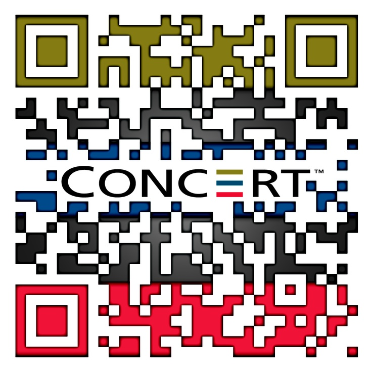 Check out this #SuperCool custom designed QR Code for CONCERT Properties by The http://www.RentSeeker.ca Team