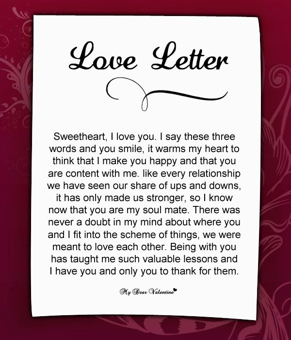 17 Best images about Love letters on Pinterest | My heart, My love ...