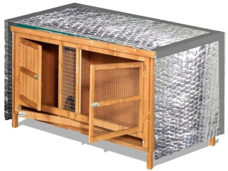Diy rabbit hutch cover woodworking projects plans for Diy hutch plans