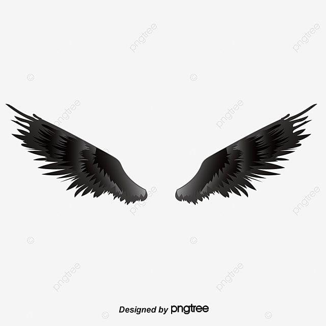 Black Wings Png And Psd In 2020 Black Wings Wings Png Wings