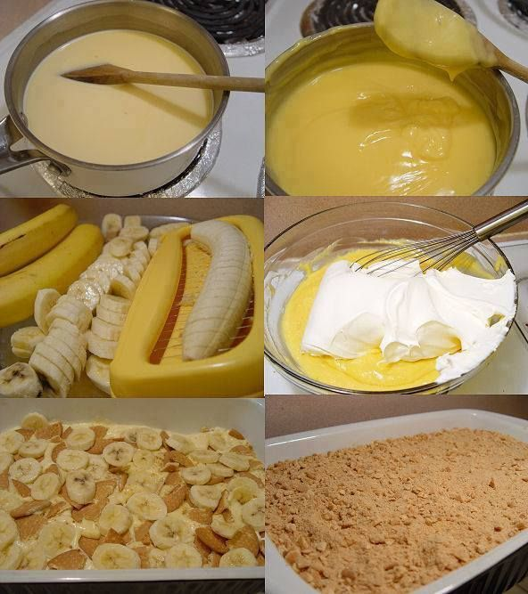 Receita de Pavê Fácil de Banana - Receita Toda Hora