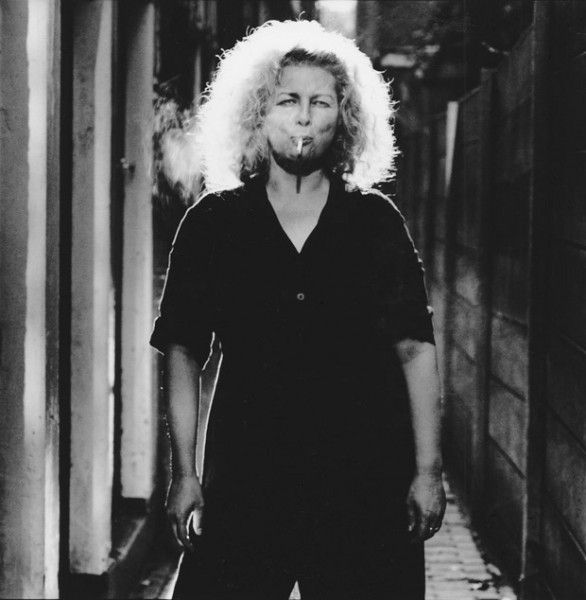 Marlene Dumas, Inwards and Onwards, b/w photo, 2000, 146 x 146 cm (Edition 6+2 AP) 7/50 by Anton Corbijn