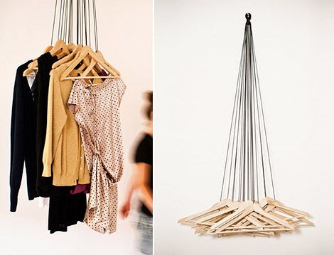 Creative clothes hangerDesign Blog | Design Blog