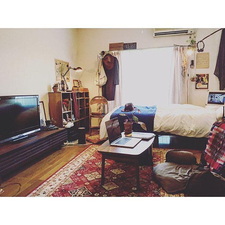 ドライフラワー/一人暮らし/DIY棚/雑貨/1人暮らし/ダイソー…などのインテリア実例 - 2016-06-18 17:06:13 | RoomClip(ルームクリップ)