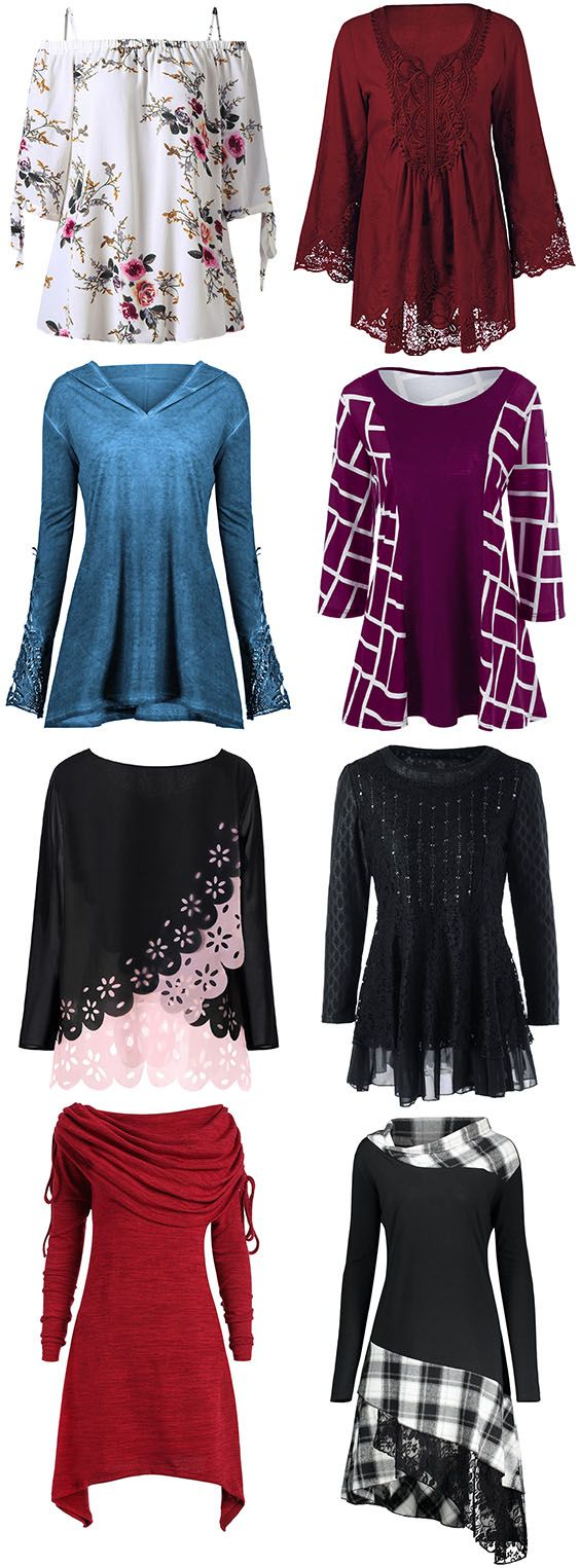 50% OFF Plus Size Blouses,Dresslily offers the latest high quality Blouses at great prices.Free Shipping Worldwide.