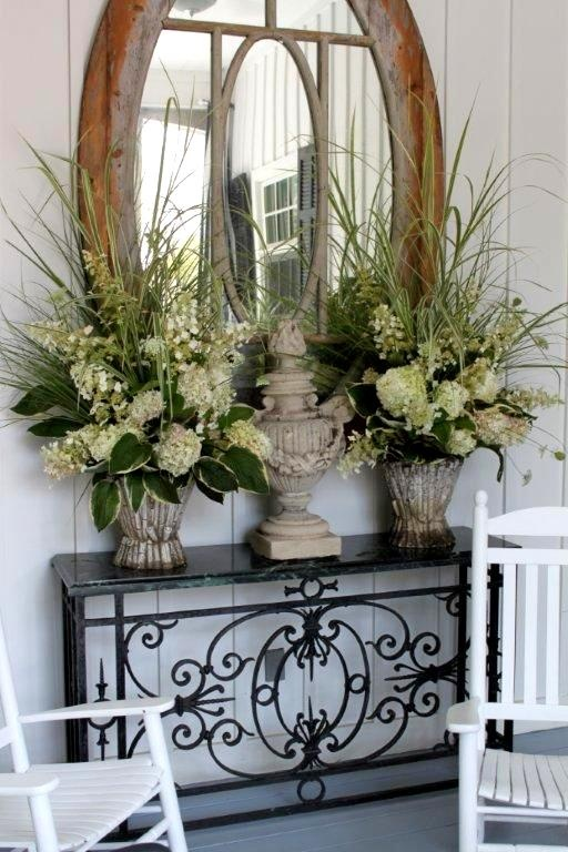 55 best images about entry and hallways on pinterest for Foyer flower arrangement