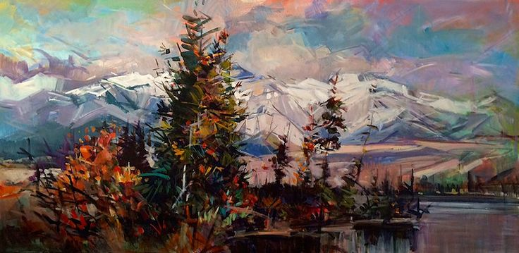 A collection of paintings by Canadian Artist Jim Vest. Jim Vest paintings are available for purchase at the mountain galleries at the fairmont.
