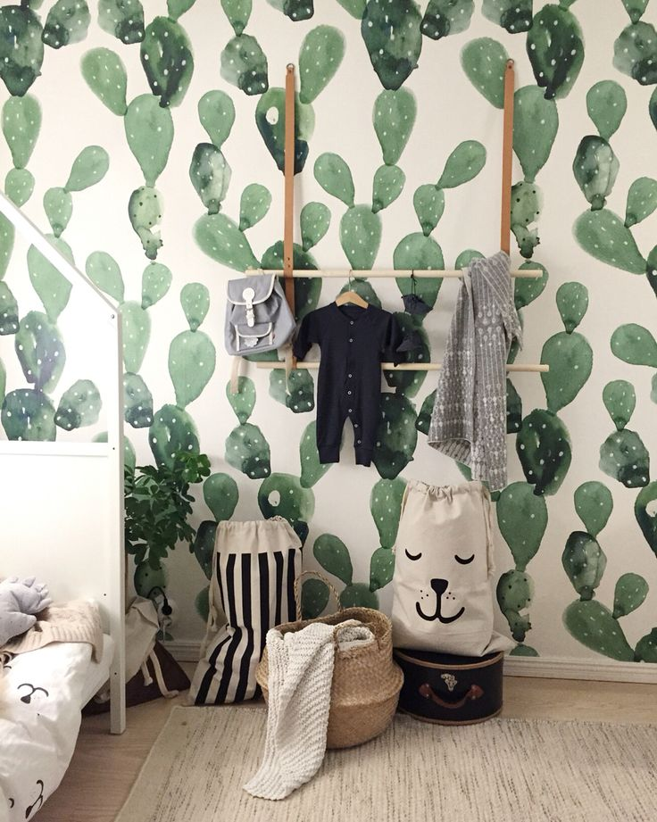 Habitación de Niños | Kid's Room by Tellkiddo #cactus #kidsroom
