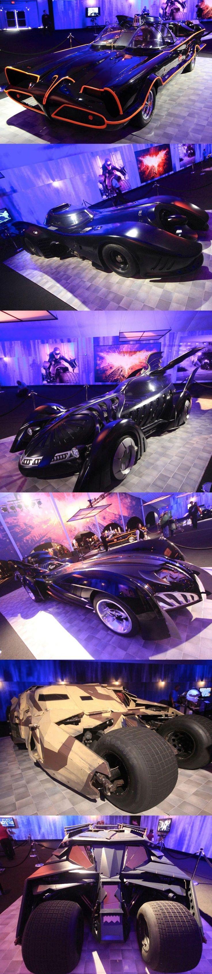 Batman Movies Cars #batmobile #show