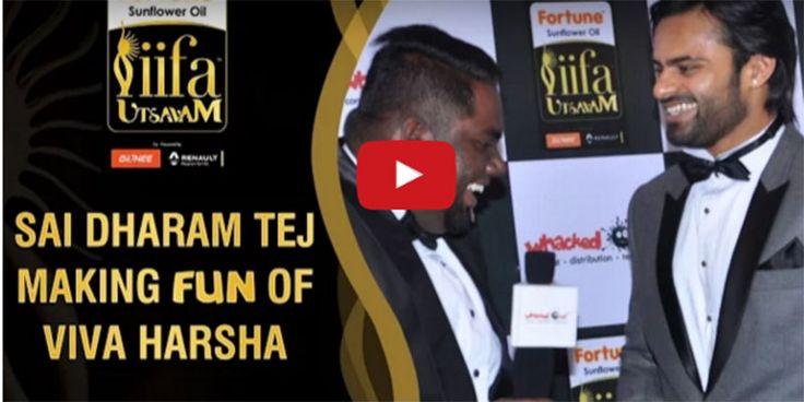 Watch: Sai Dharam Tej Making Fun of Viva Harsha Watch: Rakul Preet and Raashi Khanna Funny Chat with Viva Harsha http://goo.gl/OCA2hP